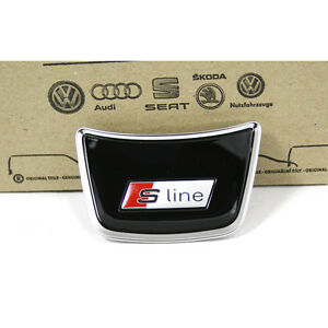 Original-Audi-A1-A6-C7-A7-S-Line-Abdeckung-mitte-fuer-Sportlenkrad-Interieur-OEM