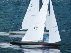 Details about The Columbia 42 RC Model Sailboat Kit