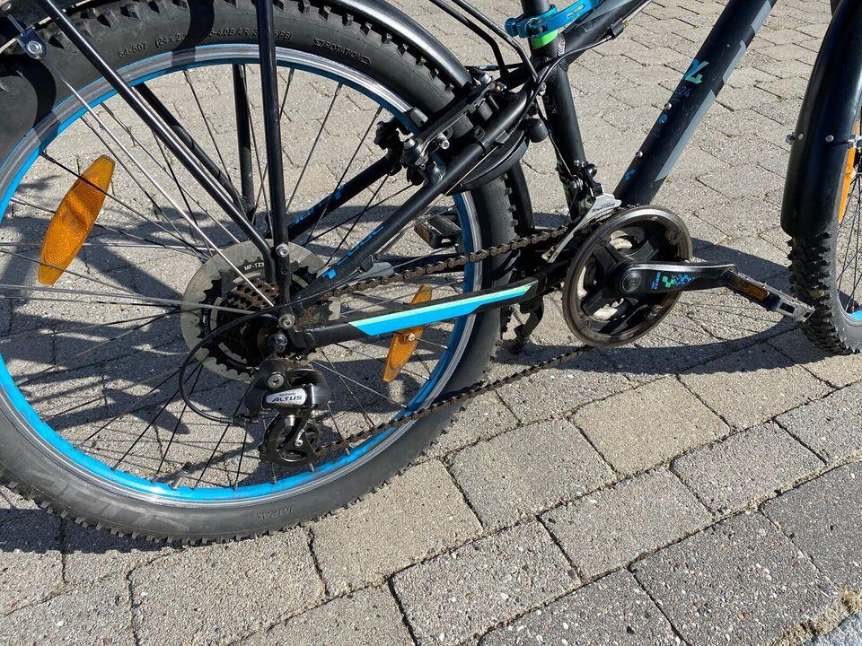 Unisex børnecykel, mountainbike, Cube