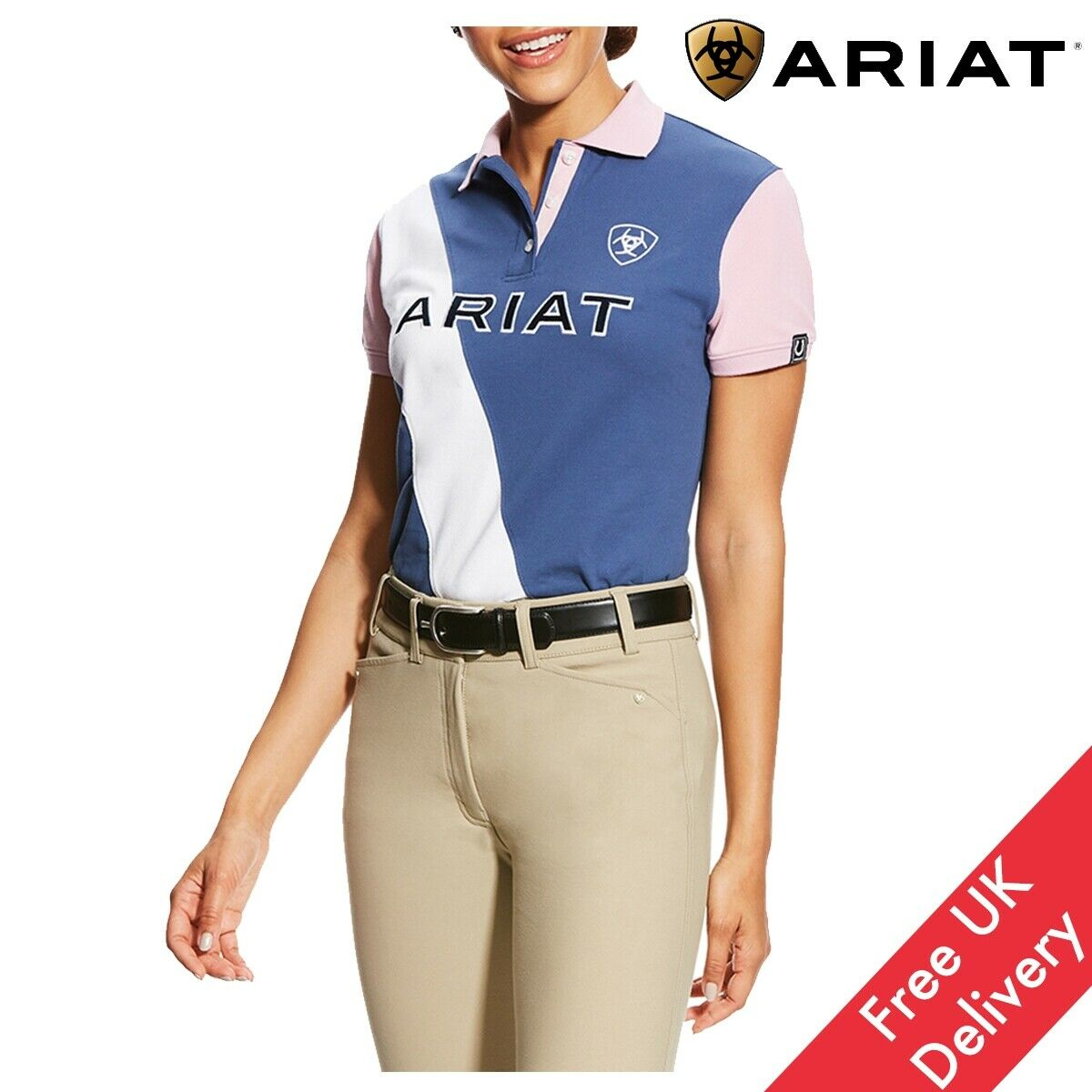 Ariat Women's Taryn Polo -  Free UK Shipping  online outlet sale