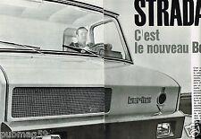 Coupure de Presse Clipping 1965 (4 pages) Stardair Nouveau camion Berliet