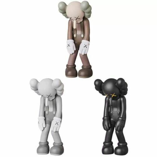 "KAWS Small Lie Companion Vinyl OriginalFake 11/"" Toy Figures Stature Gifts Set"