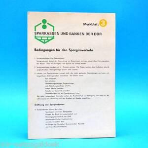 Sparkassen-y-Bancos-Condiciones-para-Spargiroverkehr-1975-DDR-Merkblatt-C