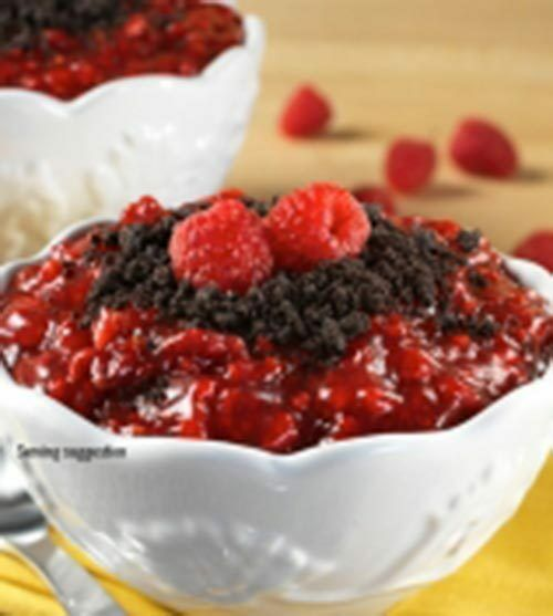 1 CASE (of 6) RASPBERRY CRUMBLE   MAKES 20oz Double Serve Paks MOUNTAIN HOUSE  incentive promotionals
