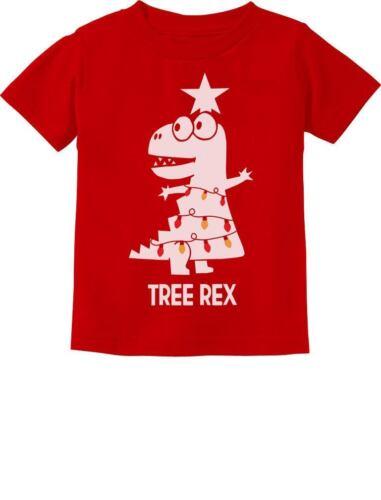 Tree Rex Cute Funny T-Rex Dinosaur Christmas Toddler Kids T-Shirt Gift Idea