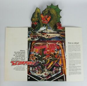 Williams-Scorpion-Pinball-Advertising-Flyer