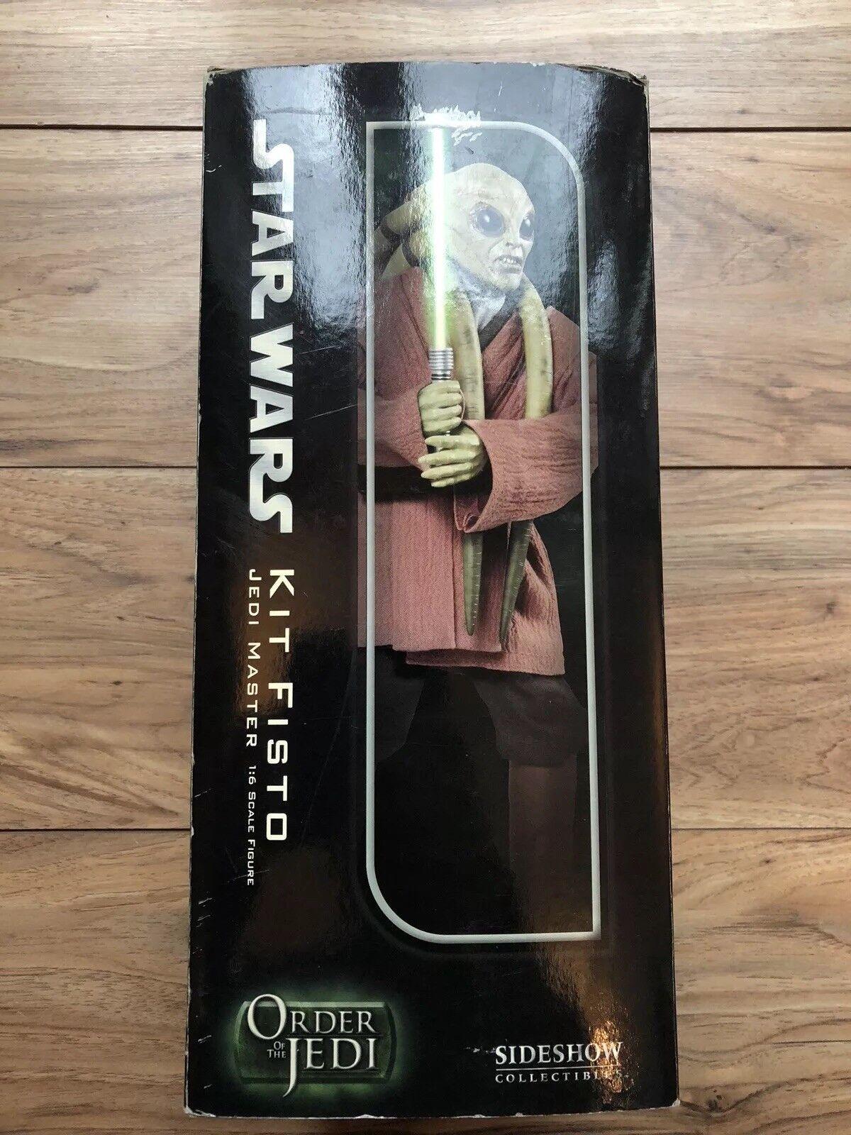 Sideshow Guerre Stellari ordine dei Jedi KIT FISTO FISTO FISTO Maestro Jedi afssc 1088 cf58b0