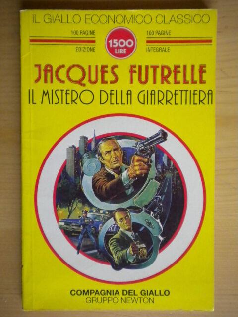 Il mistero della giarrettieraFutrelle JacquesNewton1996giallo classico 109