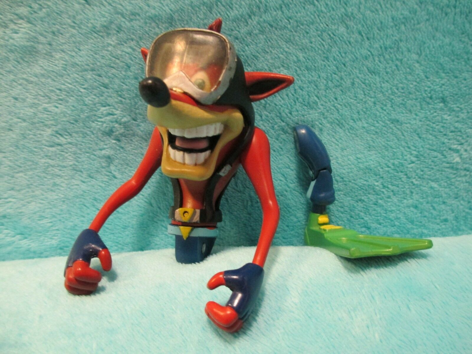 1999 ReSaurus PS1 Crash Bandicoot Series 2 Two - Deep Dive Action Figure 5