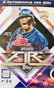 2020-Baseball-Topps-Fire-Hobby-Box-2-Autographs-Per-Box-Luis-Robert-FAST-SHIP
