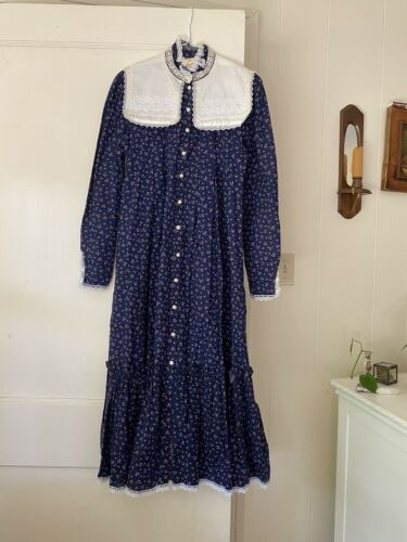 vintage gunne sax prairie dress (size 9) - image 1