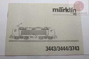 H0-Maerklin-3443-3444-3743-Lokomotive-Bedienungsanleitung-operation-manual