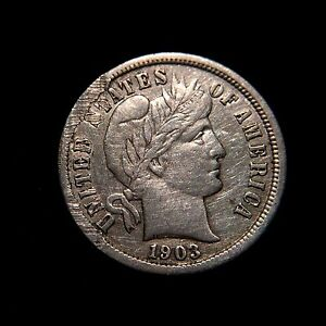 Barber Dime Key Dates : ... Barber-Dime-AU-About-Uncirculated-10c-Ten-Cent-Dollar-Silver-Key-Date