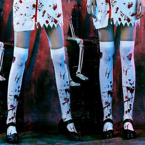 Halloween-Horror-Bleeding-Long-Stockings-Cosplay-Party-Blood-Socks-Props