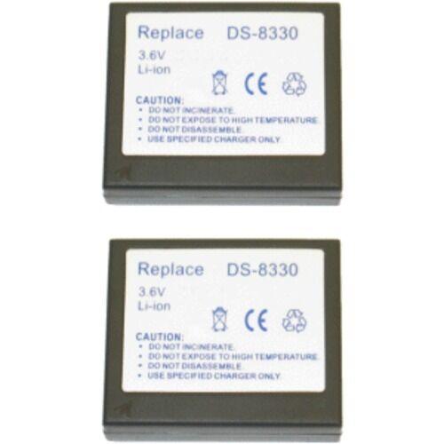 2 baterías para Traveler dc-8300 dc-8600 dc-8000 xz6 nuevo