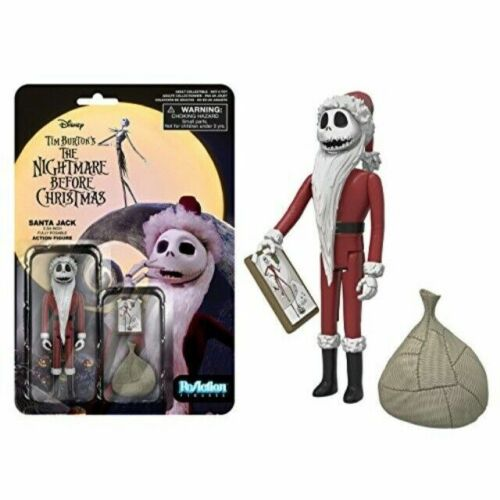 Funko Reaction The Nightmare Before Christmas Santa Jack Skellington Toy 7724