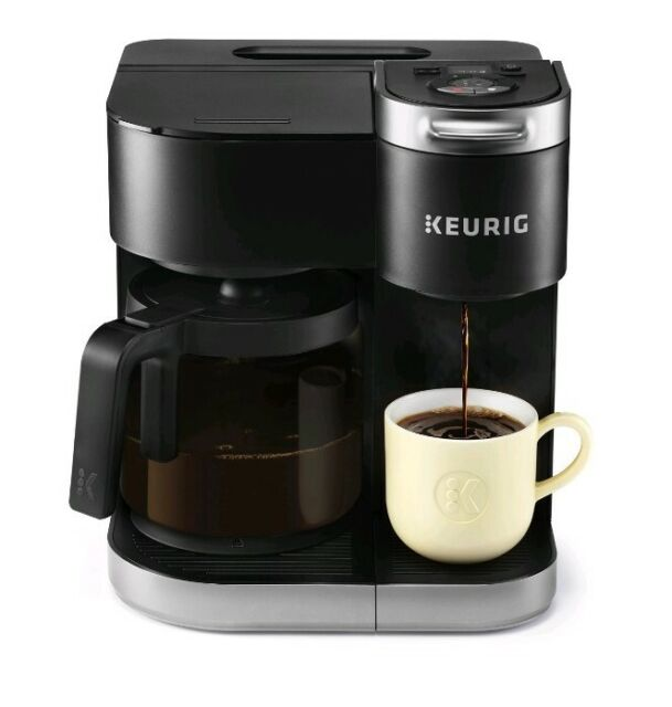 Keurig K-Duo Single-Serve & Carafe Coffee Maker - Black | eBay
