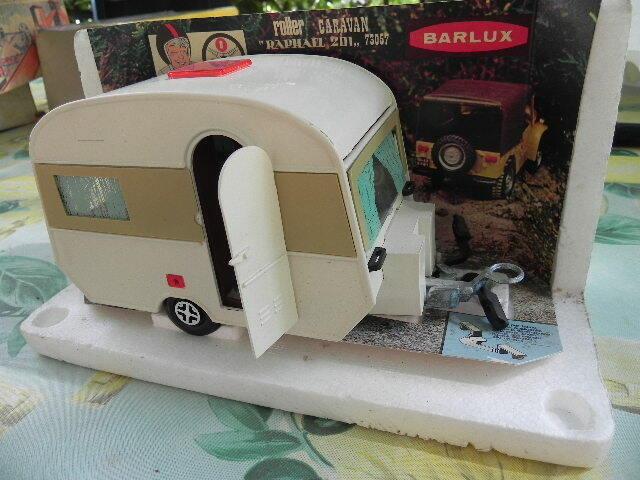 Roulotte BARLUX - Roller Caravan   RAPHAEL 201  art. 73057 - Serie Zoom -Vintage