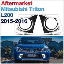 LED Daytime Running Light DRL Mitsubishi Triton MQ GLX 2015-2017 Fog Lamp Car OZ