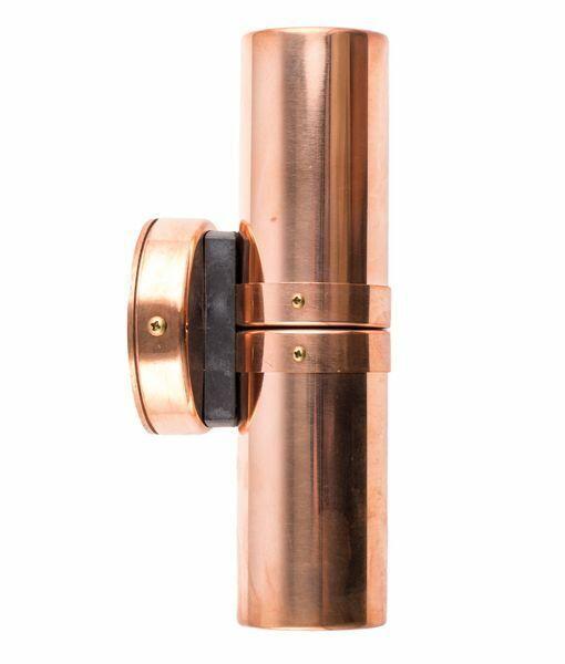 GU10 Pilar Parojo Exterior Luces (cobre)
