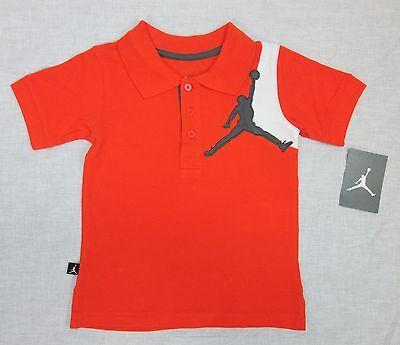 Nike Air Jordan Jumpman T shirt Black Orange Boys Large L NEW w//tag