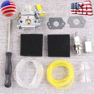 Carburetor-Air-Filter-Carb-For-Homelite-26cc-30cc-Ryobi-Poulan-Trimmer-308054013