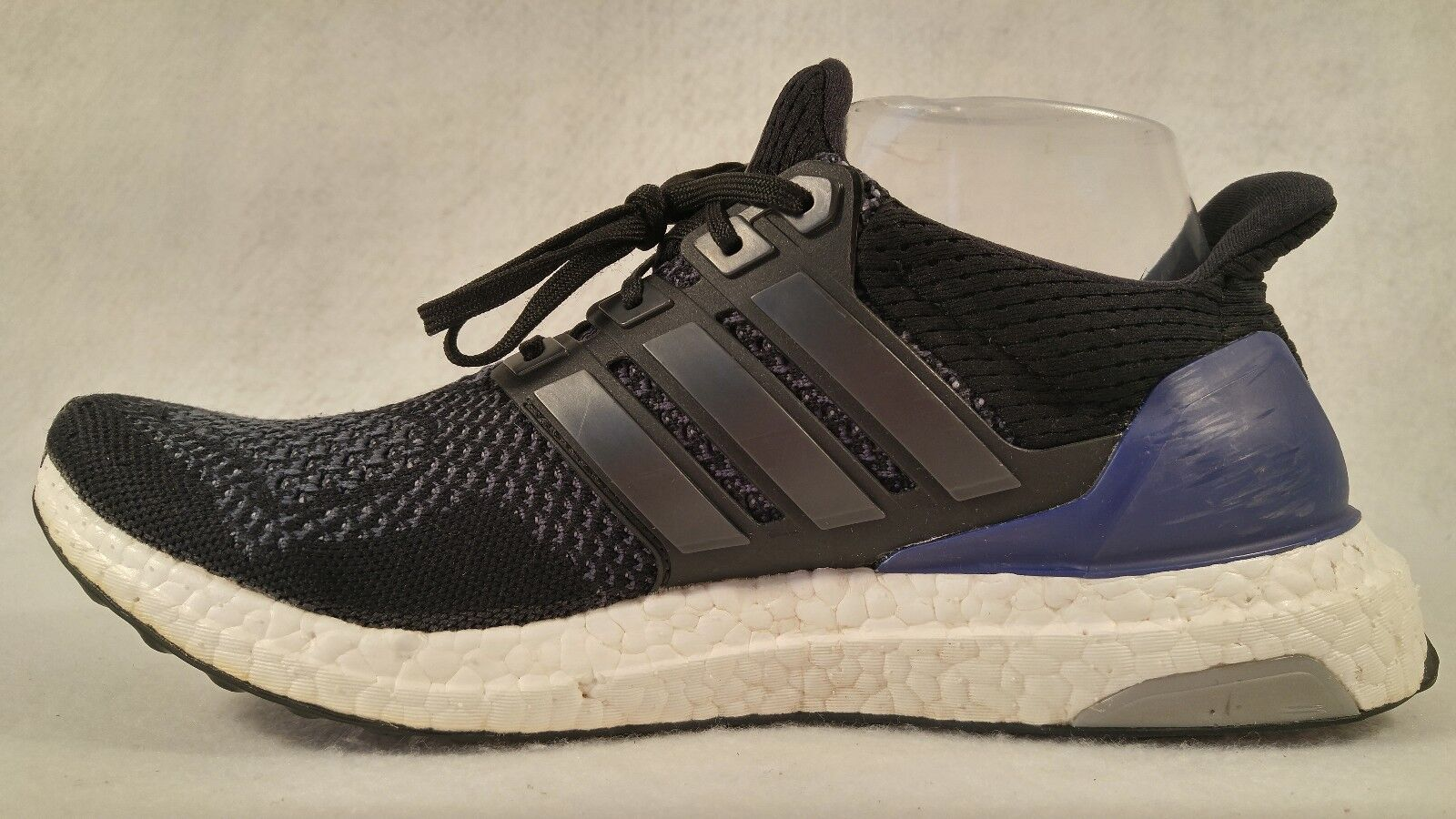 Adidas Ultra Boost 1.0 OG Black Purple Primeknit Primeknit Primeknit B27172 Running shoes Wmn 9 Mn 8 552512