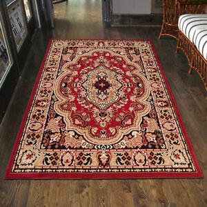 Teppich Orient Perser Orientalisch In Rot Laufer Xxl 200x300