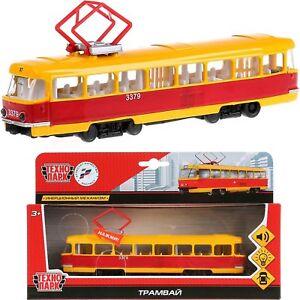 Tatra-T3-T3SU-Tram-Voiture-Diecast-SCALE-MODEL-1-43-1-72-Moscou-Prague-russe-jouets