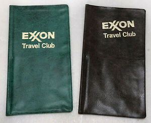 Details about 2 Exxon Travel Club Map Holders FREE SHIPPING on map new port richey, map case, map storage, map rack, map beverly hills, map monticello, map of central louisiana,