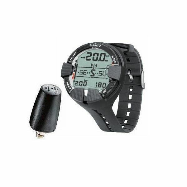 Suunto computer Vyper Air All Black + SONDA LED +SDM