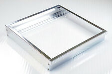 LED Panel Rahmen Halterung 30x30cm für Wand und Decke Eloxiert Matt
