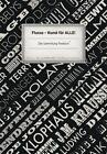 Fluxus Kunst für alle von Katja Knicker, Kurt Wettengl, Nicole Grothe und Regina Selter (2013, Kunststoffeinband)