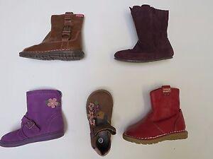 Filles-chaussures-bottes-cuir-ex-m-amp-s-taille-4-5-6-7-8-9-rrp-20-22-rouge-marron-clair