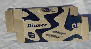 Nice Reproduction Ww2 Us Army Usmc Soldiers K Ration Dinner Box Ebay