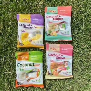 Puerto-Rico-Candy-Mix-Coconut-Snack-4-PACK-Pineapple-Ginger-Guava