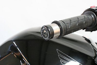 Fits Most Hondas Honda handlebar bar end weights sliders by R/&G Racing in Black