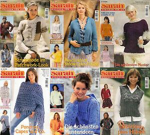 58d2a4baf1 Das Bild wird geladen Sarah-Maschen-fuer-Sie-Stricken-amp-Haekeln -Auswahlhefte