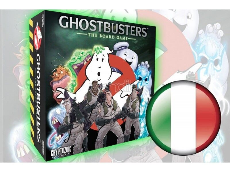 CRYPTOZOIC COSMIC GAMES GHOSTBUSTERS THE GAME TABLE GAME TABLE
