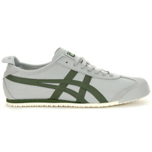 ASICS Men's Onitsuka Tiger Mexico 66 Mid Grey/Pine Tree Sneakers 1183A201.020...