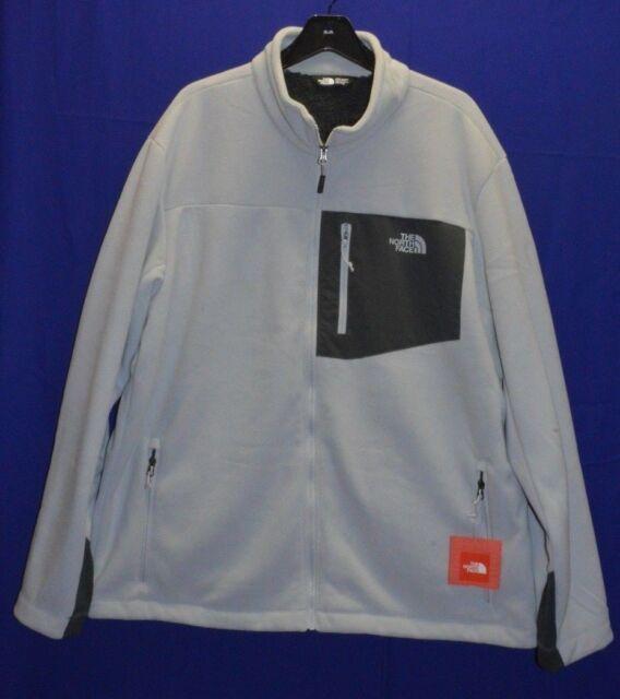 919bb9f80 The North Face Chimborazo Full Zip Fleece Jacket Gray Men's 2xl