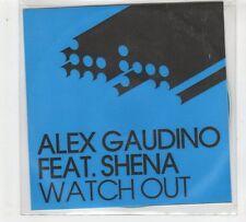 (GP886) Alex Gaudino Feat Shena, Watch Out  - 2008 DJ CD