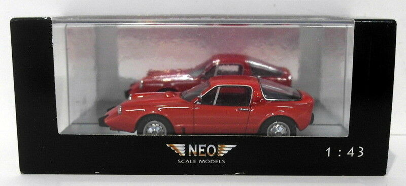 NEO 1 43 Scale Resin Model NEO45525 - Saab Sonnet II - Red