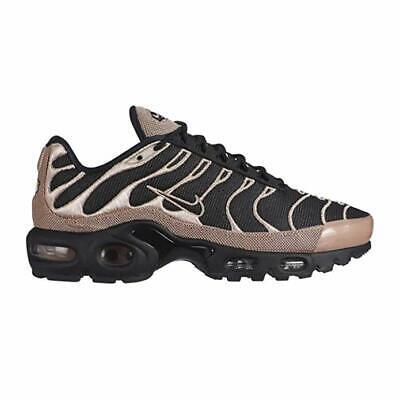 save off cheap sale autumn shoes Nike Air Max Plus PRM TN Tuned Women's (6 - 9.5) Black / Gold 848891 005  Premium   eBay