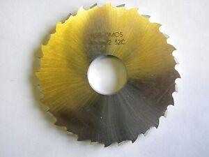 Metallkreissägeblatt 80 x 6 x 22, 32 Zähne, HSSDMO5, DIN 1838C