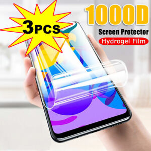 For OPPO Realme 7 Pro /7 Soft Hydrogel Film 3D Curved Full Screen Protector