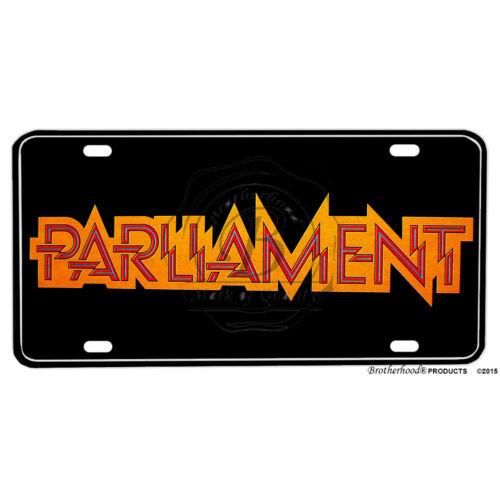 Parliament Funkadelic Emblem Printed Flat Aluminum License Plate