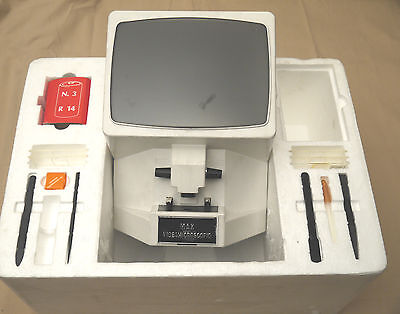 (prl) Gioco Microscopio Jouet Toy Videomicroscope Max Vintage Giocattolo '80