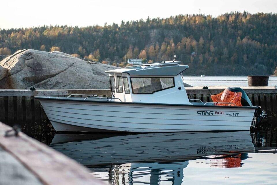 Sting 600 HT - 25 HK Yamaha/Udstyr/Trailer, Motorbåd, årg.