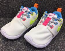 ab99cc1069d3 BABY GIRL Nike Roshe One Shoes 7C 749425 105 TDV White   Volt-Racer Pink